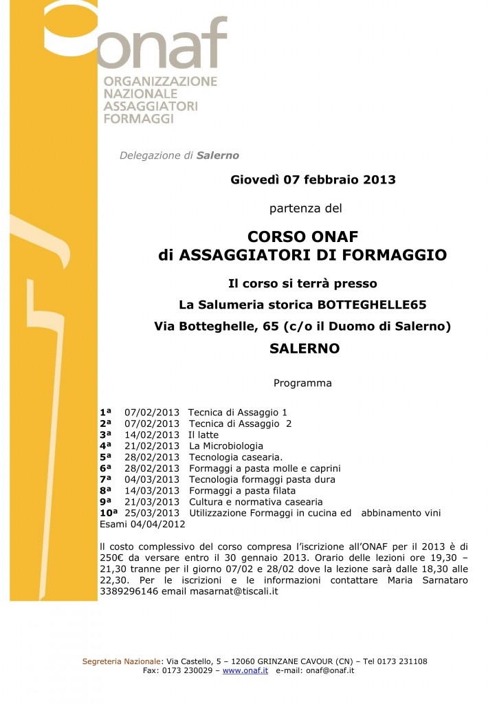 corsoSalerno 2013