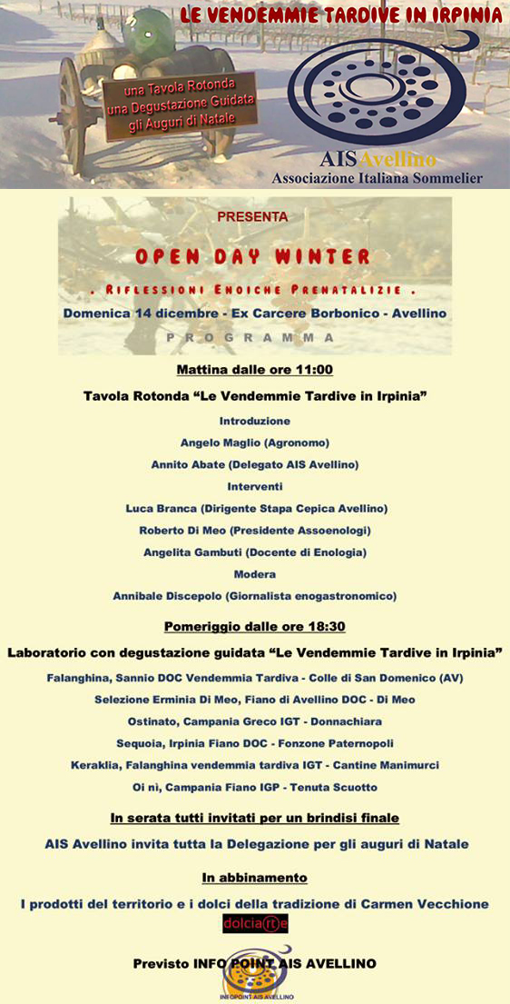 Open Day Winter