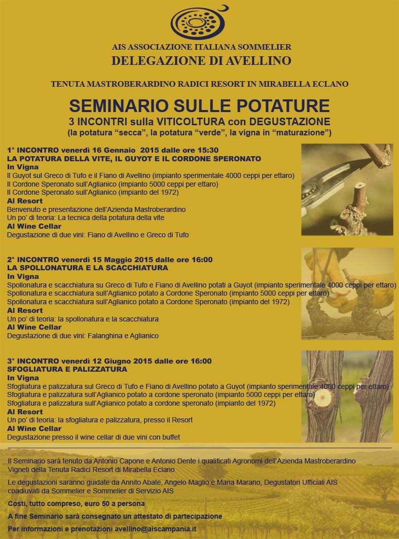 Seminario Potature con AIS Avellino