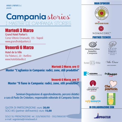 Invito Master Campania Stories