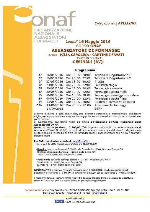 corso CESINALI  AVELLINO  2016-001