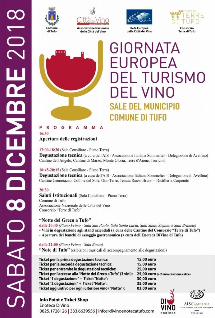 Tufo, 08.12.2018 - Evento Consorzio TdT