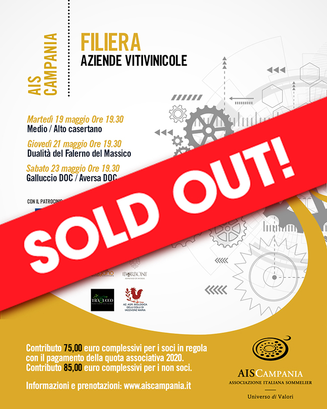 Filiera Aziende Vitivinicole sold out