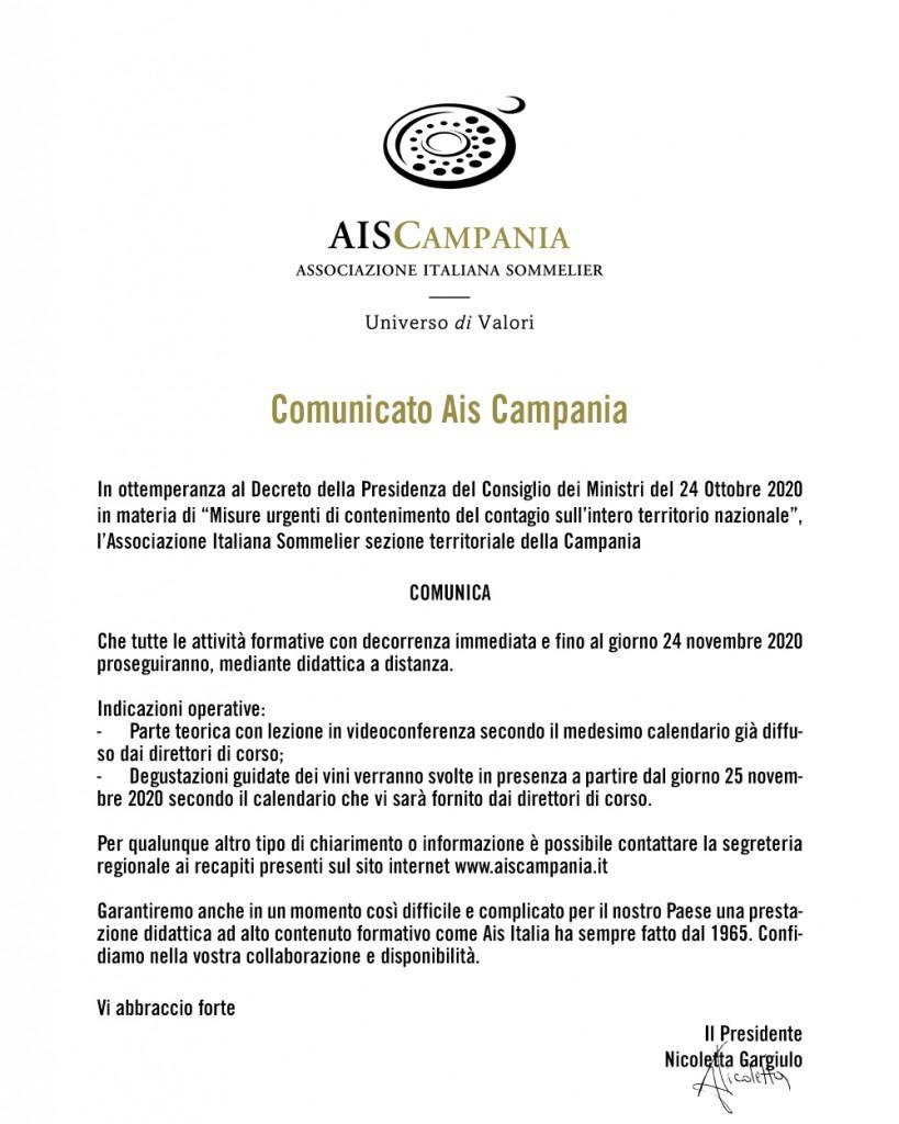 Comunicato-Ais-Campania